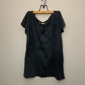 Free People Movement Size Small Dark Gray T Shirt